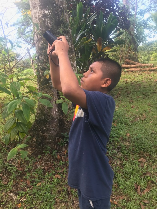 Citizen Science Bocas del Toro Child Photographer